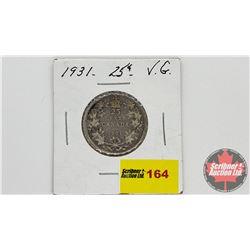 Canada Twenty Five Cent 1931