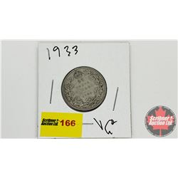 Canada Twenty Five Cent 1933