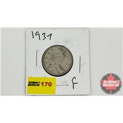 Canada Twenty Five Cent 1937