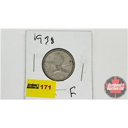Canada Twenty Five Cent 1938