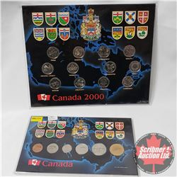 Canada Sets : 2000 Quarter Collection & 1887-1992 Year Set