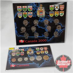 Canada Sets : 2000 Quarter Collection & 1993 Year Set