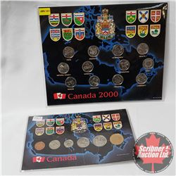 Canada Sets : 2000 Quarter Collection & 1994 Year Set