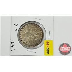 US Morgan Dollar : 1881