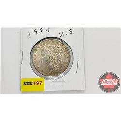 US Morgan Dollar : 1889