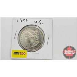 US Morgan Dollar : 1898