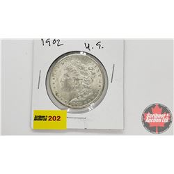 US Morgan Dollar : 1902
