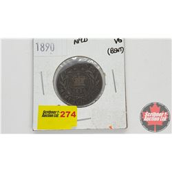Newfoundland One Cent: 1890