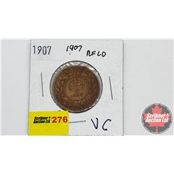 Newfoundland One Cent: 1907