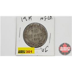 Newfoundland Fifty Cent : 1919C
