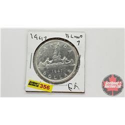 Canada Silver Dollar 1947