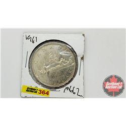 Canada Silver Dollar 1961