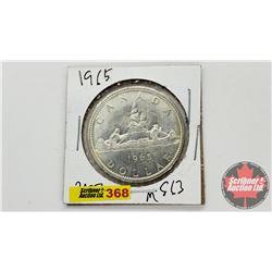 Canada Silver Dollar 1965