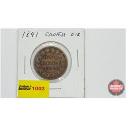 Canada Large Cent 1891