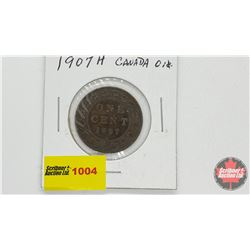 Canada Large Cent 1907H