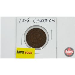 Canada Large Cent 1908