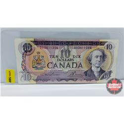 Canada $10 Bill 1971 Lawson/Bouey S/N#DX3411354