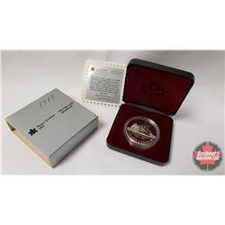 RCM 1587-1987 Silver Dollar 400th Anniversary of John Davis' Exploration of Baffin Island, the Davis