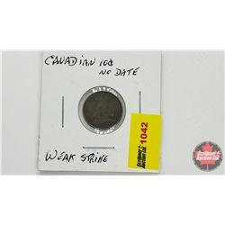 Canada Ten Cent - No Date - Weak Strike