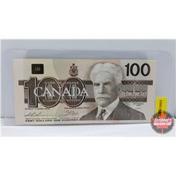 Canada $100 Bill 1988 Thiessen/Crow S/N#AJX1629366 (Replacement)