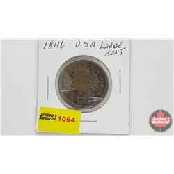 US Large Cent 1846