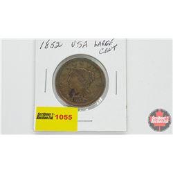 US Large Cent 1852