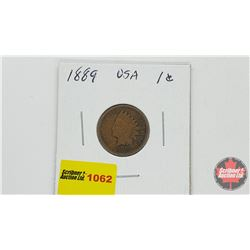 US One Cent 1889