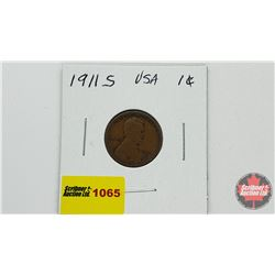 US One Cent 1911S