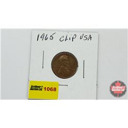 US One Cent 1965 - Clip