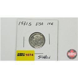 US Ten Cent 1931S