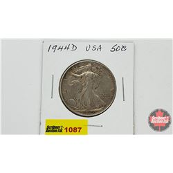 US Fifty Cent 1944D