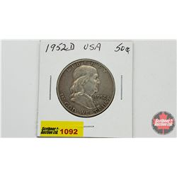 US Fifty Cent 1952D