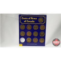 Coats of Arms of Canada (Missing One Token)