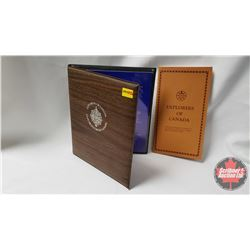 Explorers of Canada Portfolio with Biographies Book produced by Shell Canada