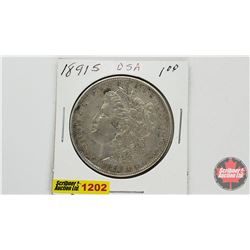US Morgan Dollar 1891S
