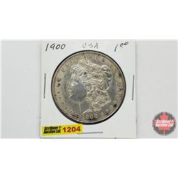 US Morgan Dollar 1900