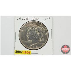 US Peace Dollar 1922S