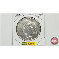 US Peace Dollar 1925S