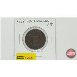 Newfoundland One Cent 1888