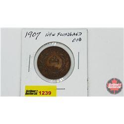 Newfoundland One Cent 1907