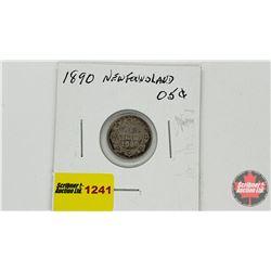 Newfoundland Five Cent 1890