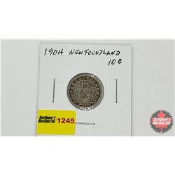 Newfoundland Ten Cent1904H