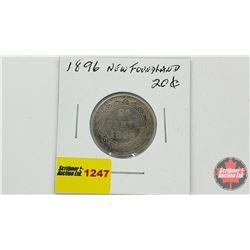 Newfoundland Twenty Cent 1896