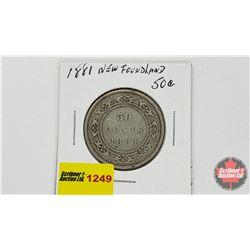 Newfoundland Fifty Cent 1881