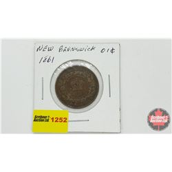 NewBrunswick One Cent 1861