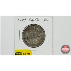 Canada Fifty Cent 1949