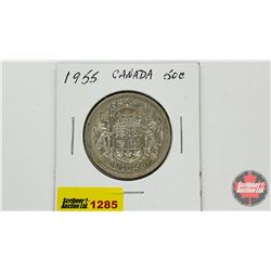 Canada Fifty Cent 1955
