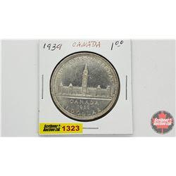 Canada Silver Dollar 1939
