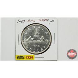Canada Silver Dollar 1952 NWL