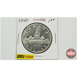 Canada Silver Dollar 1959